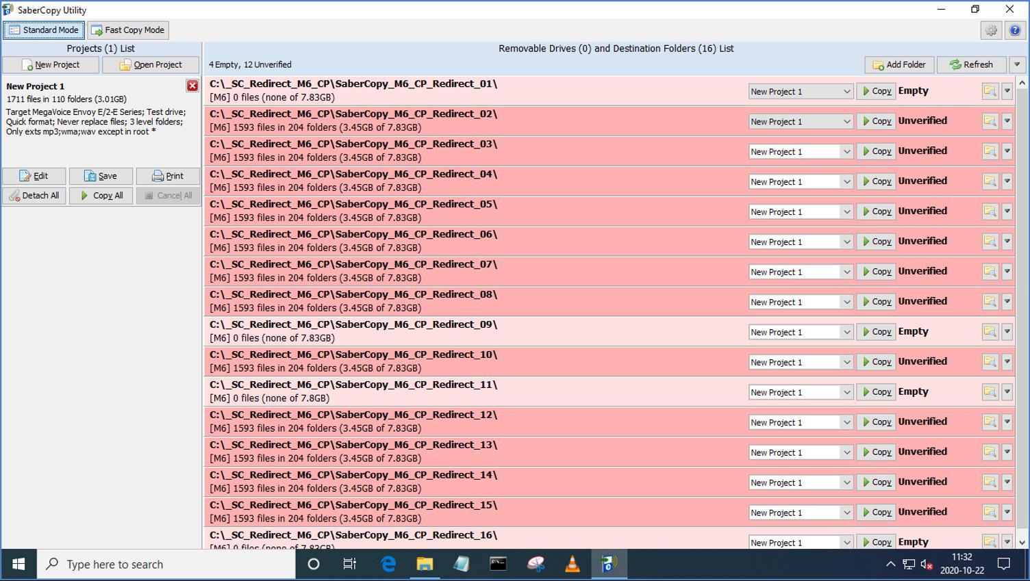 MegaVoice SaberCopy - Screenshot 10