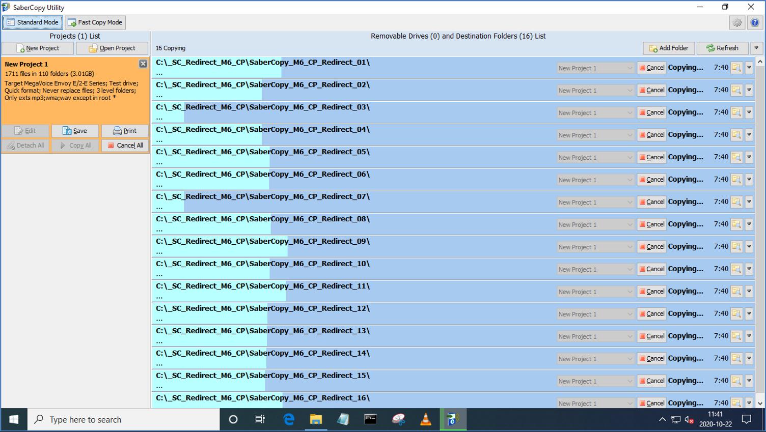 MegaVoice SaberCopy - Screenshot 11