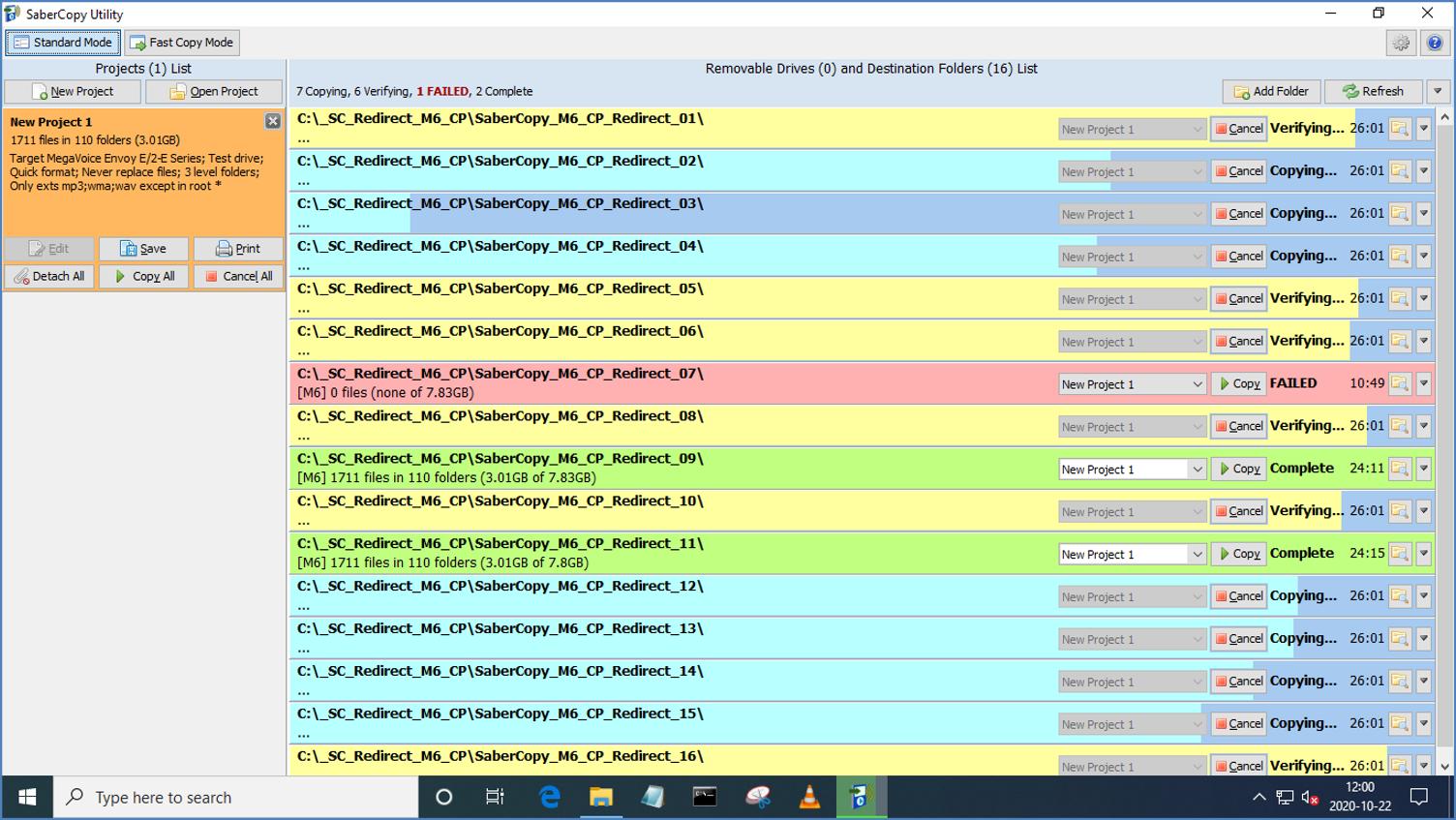 MegaVoice SaberCopy - Screenshot 12