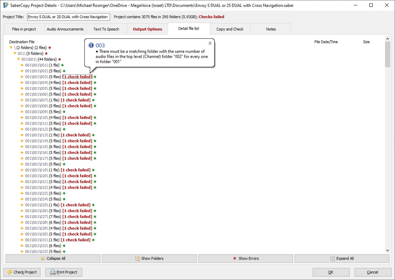 MegaVoice SaberCopy - Screenshot 7