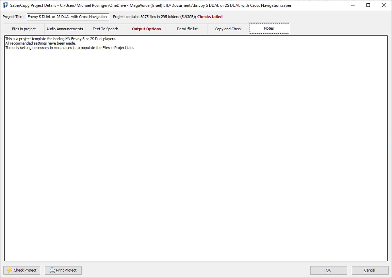 MegaVoice SaberCopy - Screenshot 9