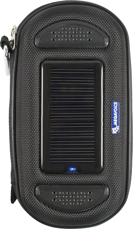 MegaVoice Audio Bible Solar Powered Case Speaker