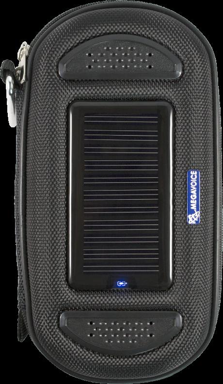 MegaVoice Audio Bible Solar Powered Case Speaker