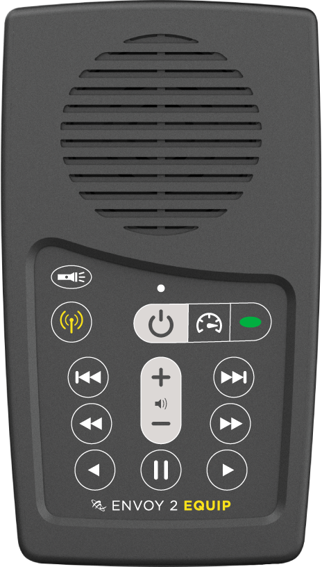 MegaVoice Audio Bible Solar Powered Envoy 2 Equip Front