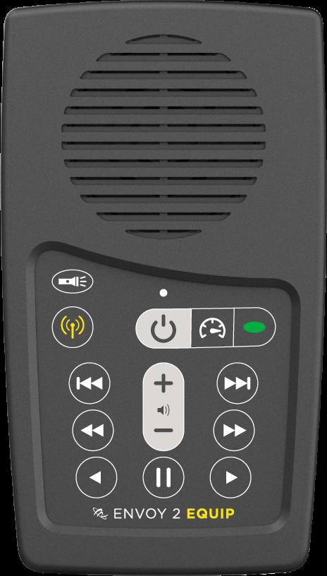 MegaVoice Audio Bible Solar Powered Envoy 2 Equip Front