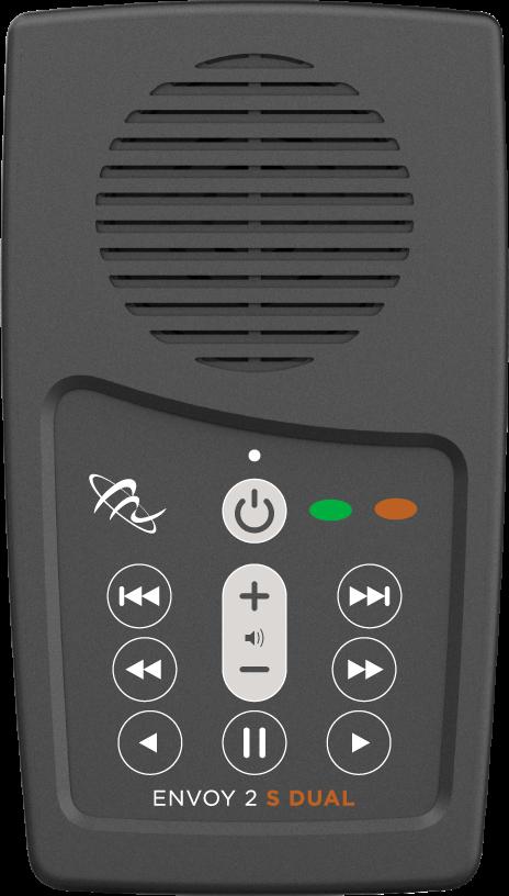 MegaVoice Audio Bible Solar Powered Envoy 2 S Dual Front