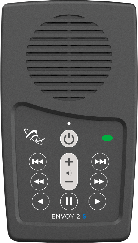 MegaVoice Audio Bible Solar Powered Envoy 2 S Front