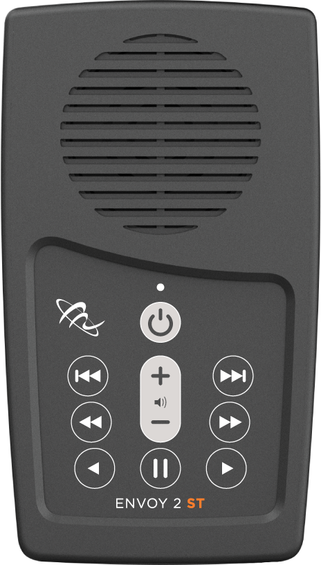 MegaVoice Audio Bible Solar Powered Envoy 2 ST Front