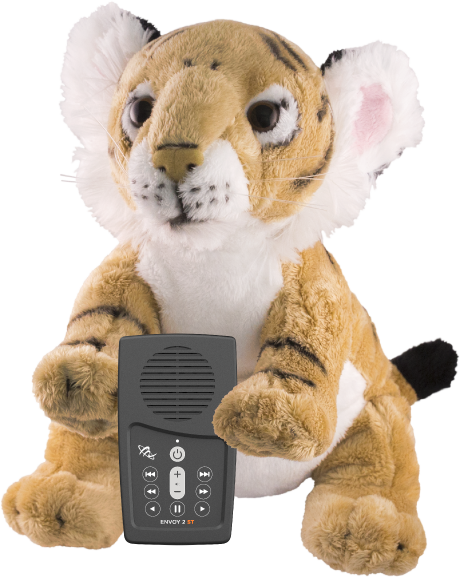 MegaVoice Audio Bible Solar Powered Wildlife STORYTELLERS Tiger Envoy 2 ST