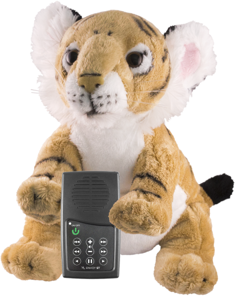 MegaVoice Audio Bible Solar Powered Wildlife STORYTELLERS Tiger Envoy Story Teller