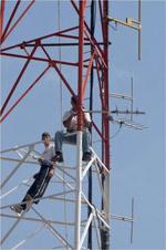 Galcom Antenna Installation